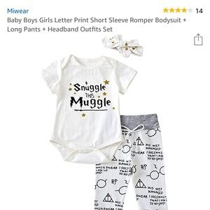 NWOT Snuggle This Muggle outfit